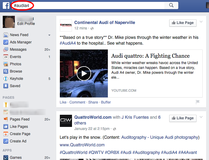 AudiA4-Facebook