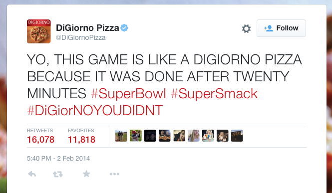 Digi Pizza Twitter Campaign