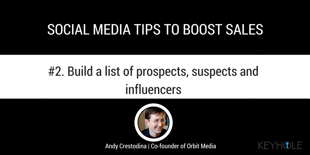 Social Media Tips to Boost Sales - Andy Crestodina for Keyhole