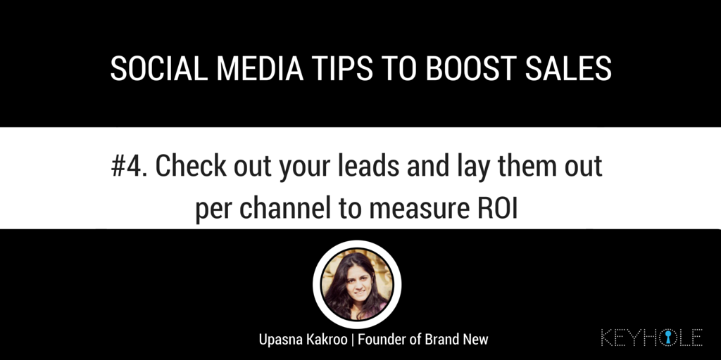 Social Media Tips to Boost Sales - Upasna Kakroo for Keyhole