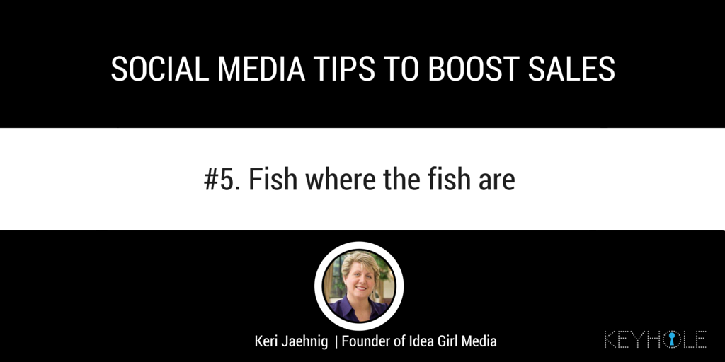 Social Media Tips to Boost Sales - Keri Jaehnig for Keyhole