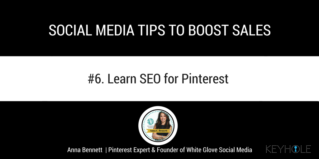 Social Media Tips to Boost Sales - Anna Bennett for Keyhole