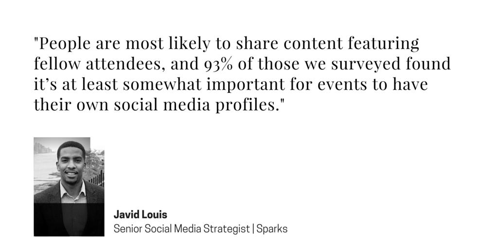 Event Marketing Social Media - Javid Louis