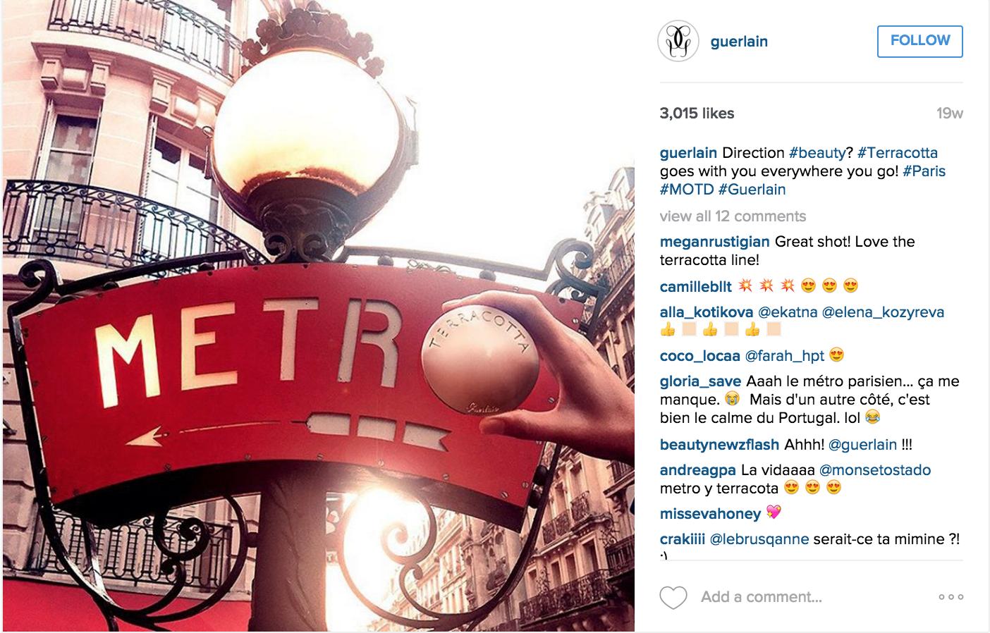 Guerlain - Instagram Campaign