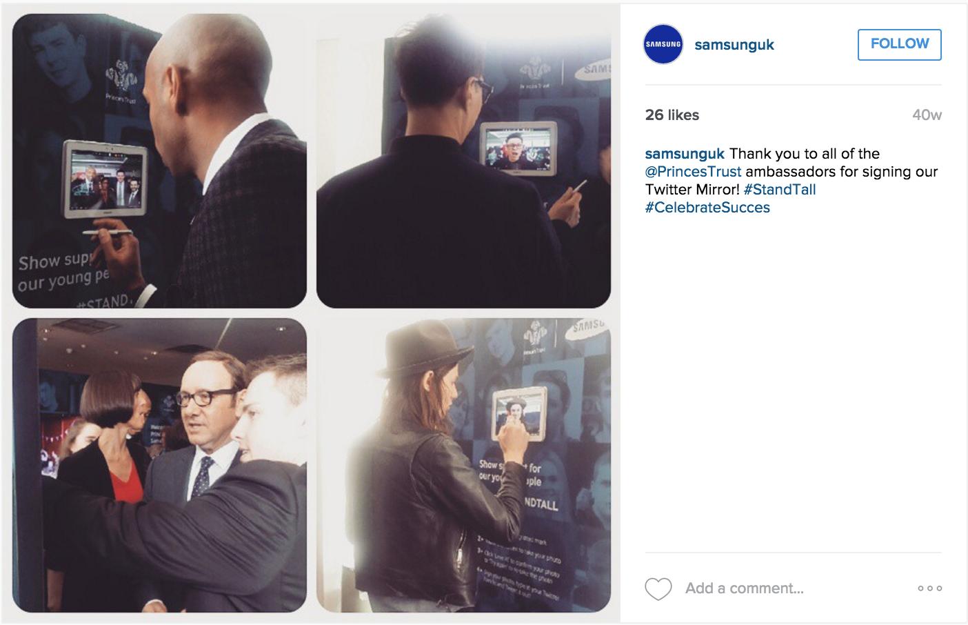 Samsung UK - Instagram Campaign