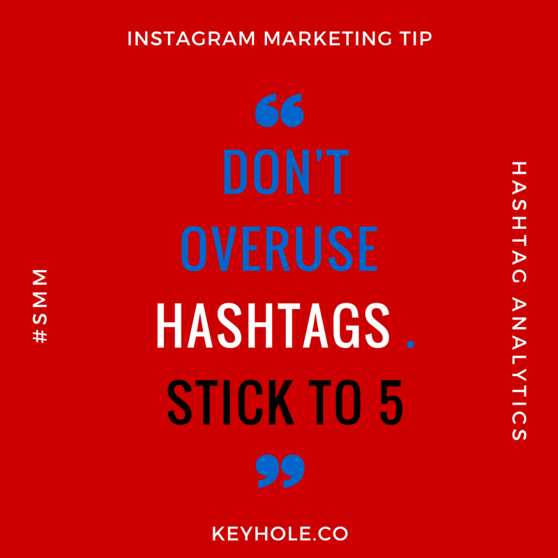 Don't over use HashTAGS IG POST (1)