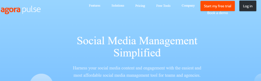 AgoraPulse - Top 25 Social Media Analytics Tools