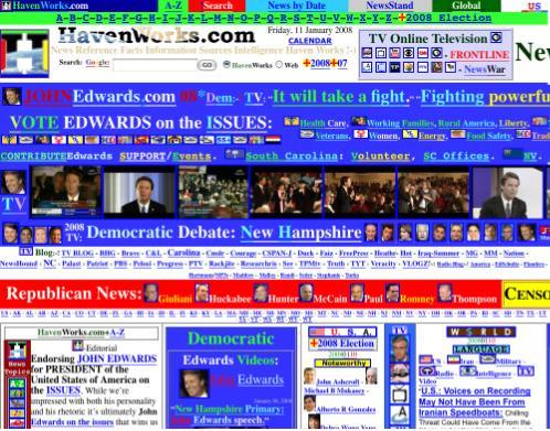 Bad Webpage