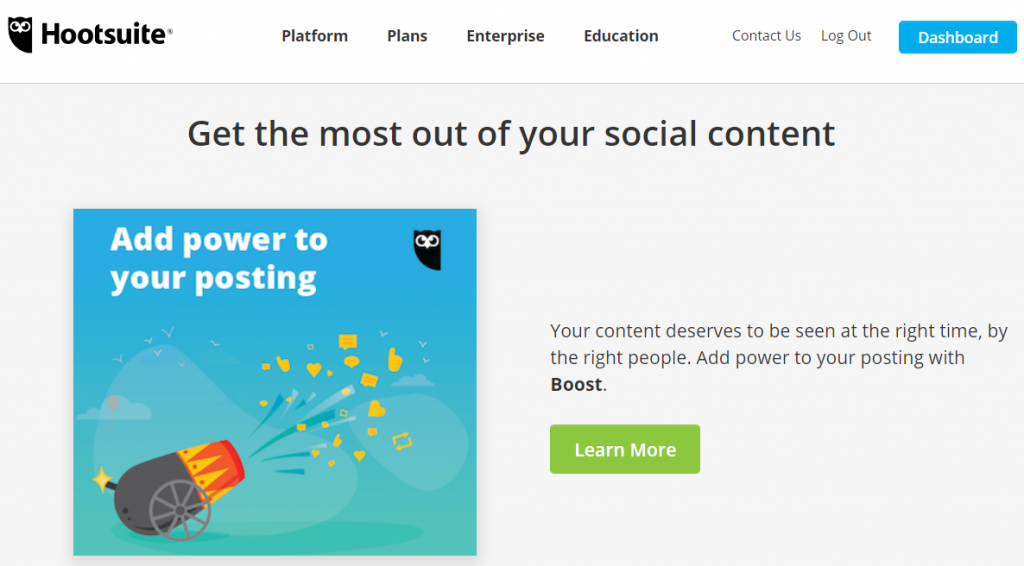 Hootsuite - Top 25 Social Media Analytics Tools
