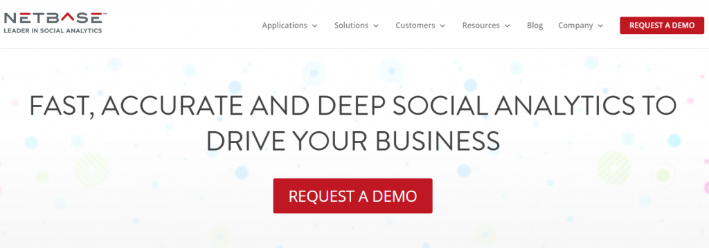 Netbase - Top 25 Social Media Analytics Tools