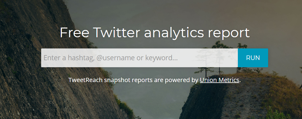 TweetReach - Top 25 Social Media Analytics Tools