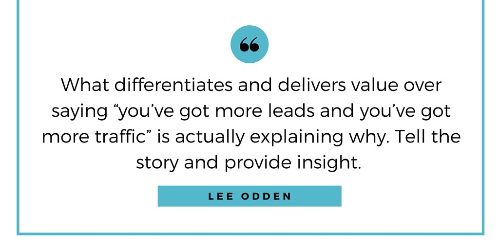 Lee Odden Interview About How to Explain Web and Social Media Analytics to Clients