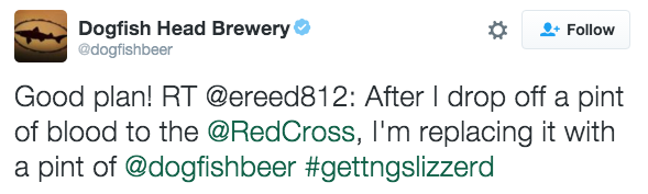 Dogfish Head Brewery 2 - 10 Trend and Campaign Hashtag Fails by Big Brands
