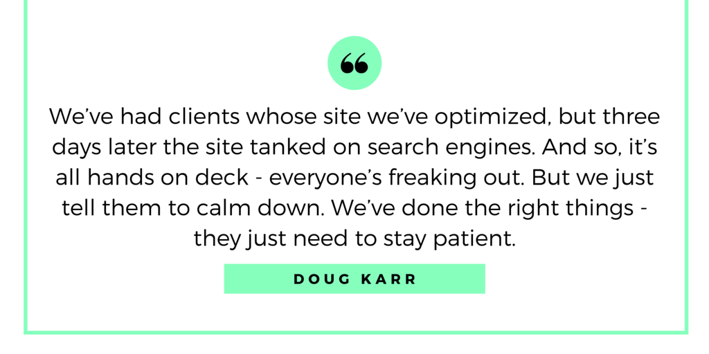 Doug Karr Quote - How to Grow and Run a Company Blog