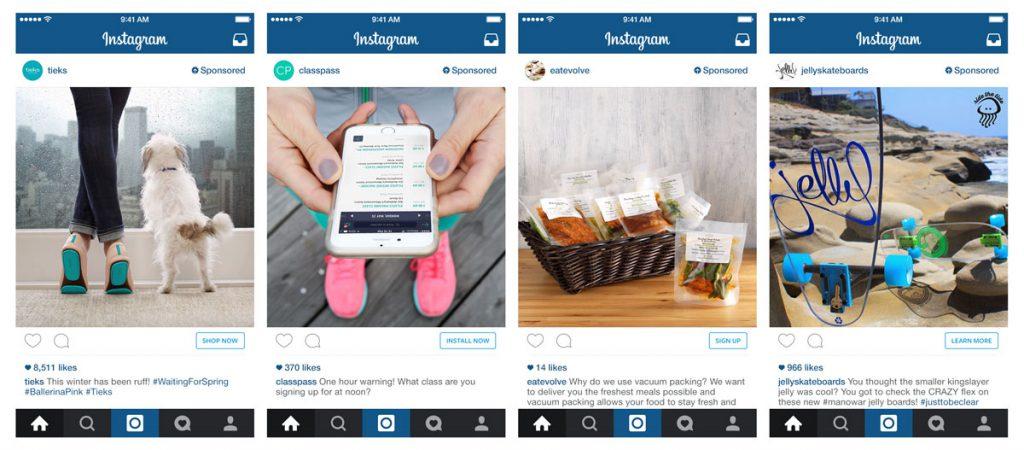 Instagram Slides - Generating Sales with Instagram - Instagram Ad Formats