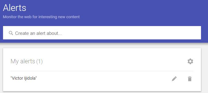 Google Alerts - Top 25 Social Media Monitoring Tools