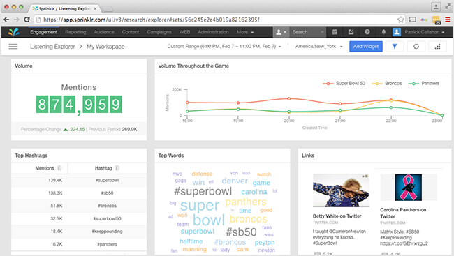 Sprinklr - Top 25 Social Media Monitoring Tools