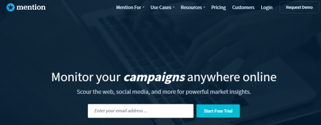 Mention - Top 25 Social Media Monitoring Tools