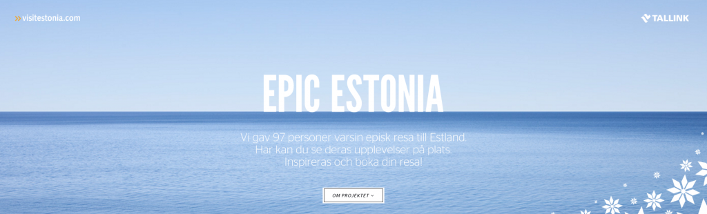 Epic Estonia - Social Media Strategy Template Download