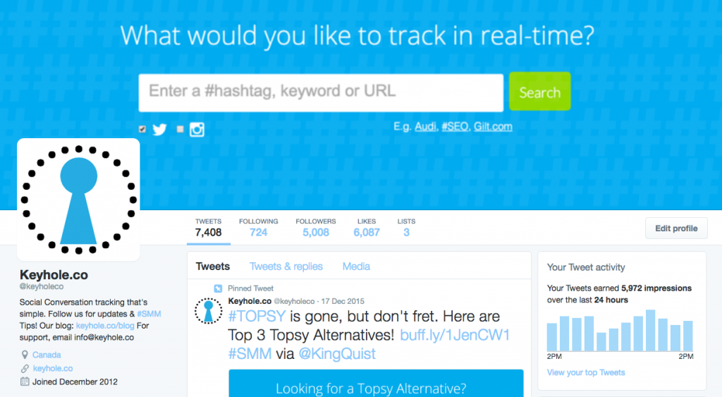 Optimize Profile - 75 Twitter for Business Uses