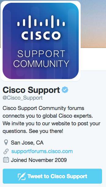 Cisco Twitter Support - 25 Tips for Social CRM Success