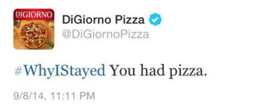 DiGiorno Accidental Tweet - How to Grow Your Following Using Trending Twitter Hashtags