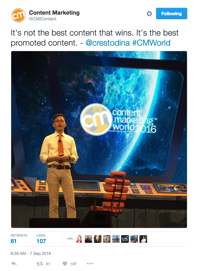 Influencer Quotes - How #CMWorld Earned a Twitter Reach of More Than 45 million in 4 days