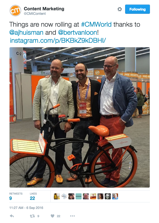Updating Guests - How #CMWorld Reached More than 45 Million Twitter Users in Four Days