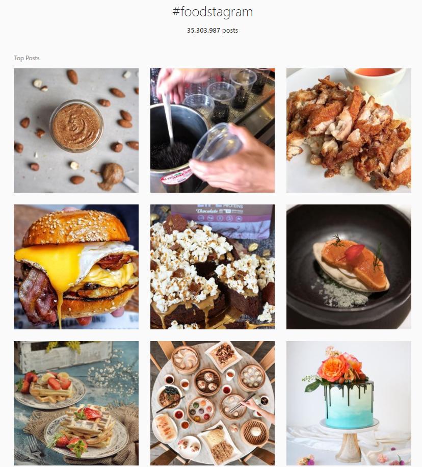 Foodstagram - Instagram Hashtag