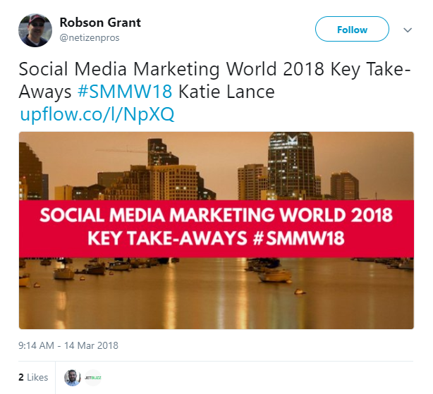 Event Marketing - Event Hashtag - Social Media Marketing World