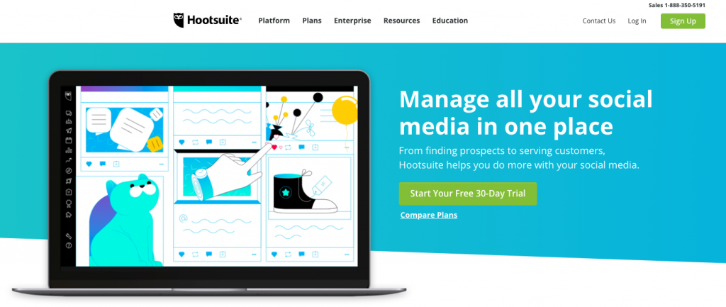Hootsuite_screenshot_july2019