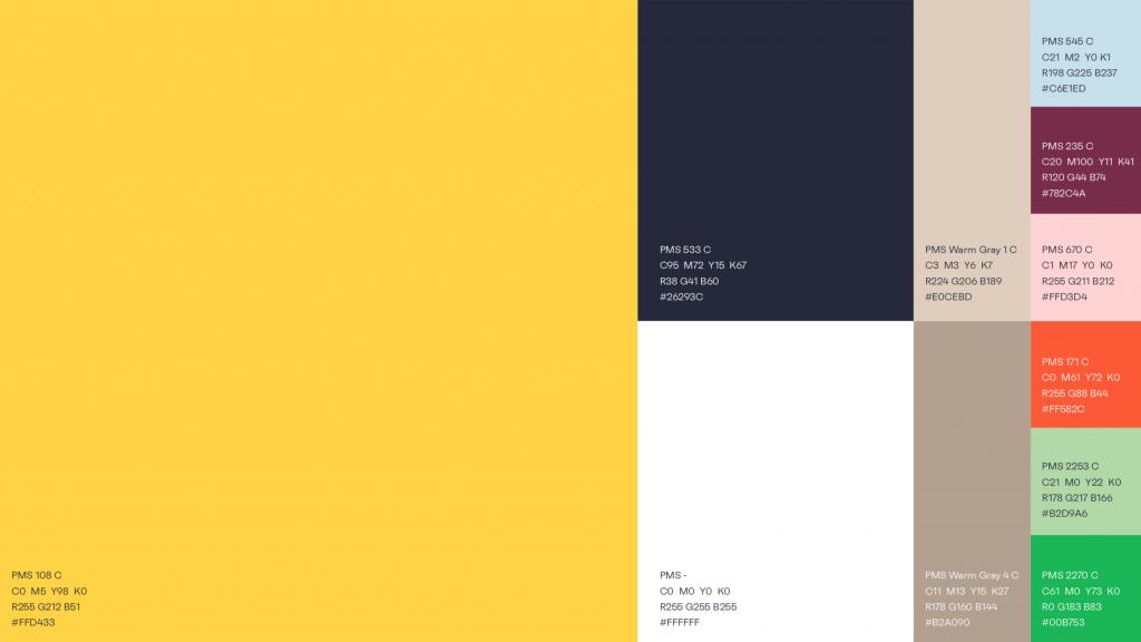 keyhole - new branding colour palette