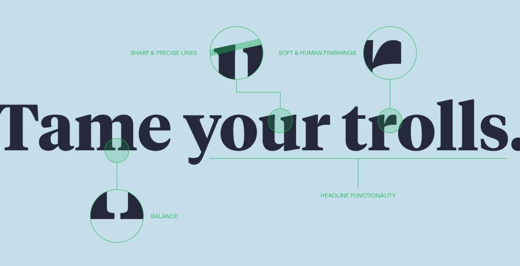 new branding - keyhole - tiempos - new font - details