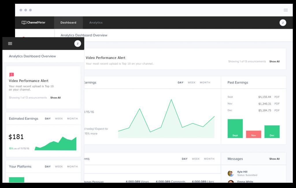 channelmeter for youtube analytics metrics