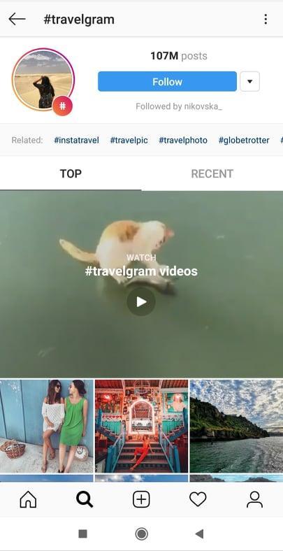 travelgram - instagram hashtag