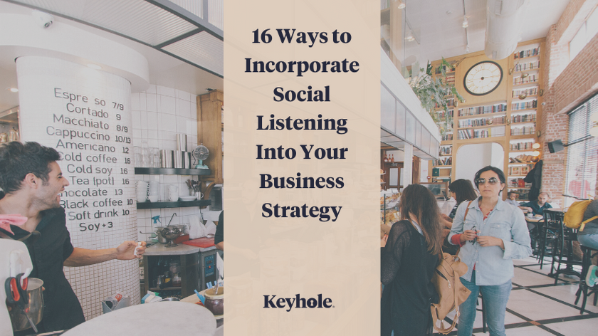 16 Ways to Incorporate Social Listening Into Your Business Strategy - Banner