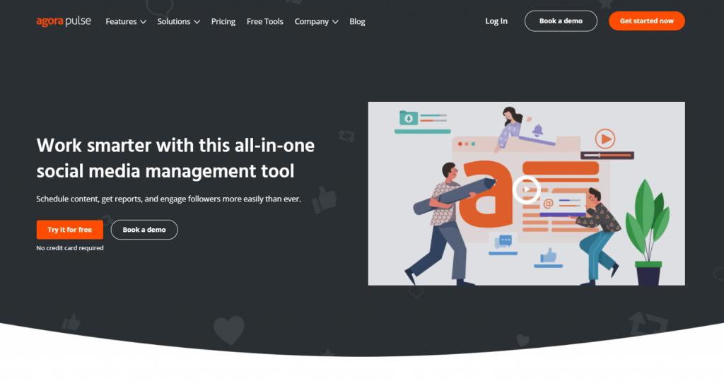 Social Media Tools - Social Listening Tools - Agorapulse