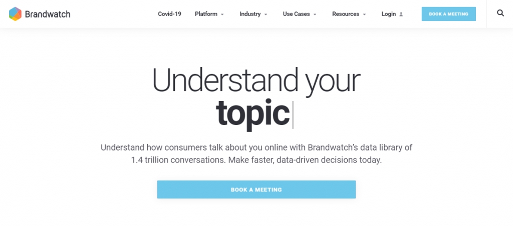 Social Media Tools - Social Listening Tools - Brandwatch