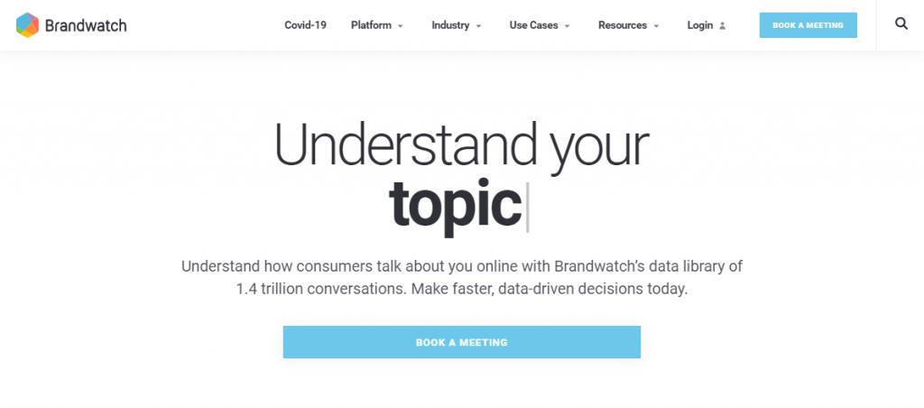 Social Media Tools - Social Listening Tools - Brandwatch