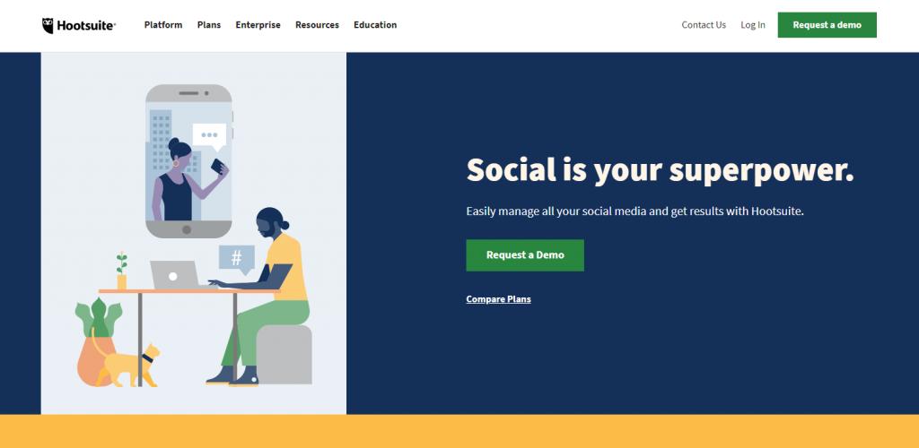 Social Media Tools - Social Listening Tools - Hootsuite