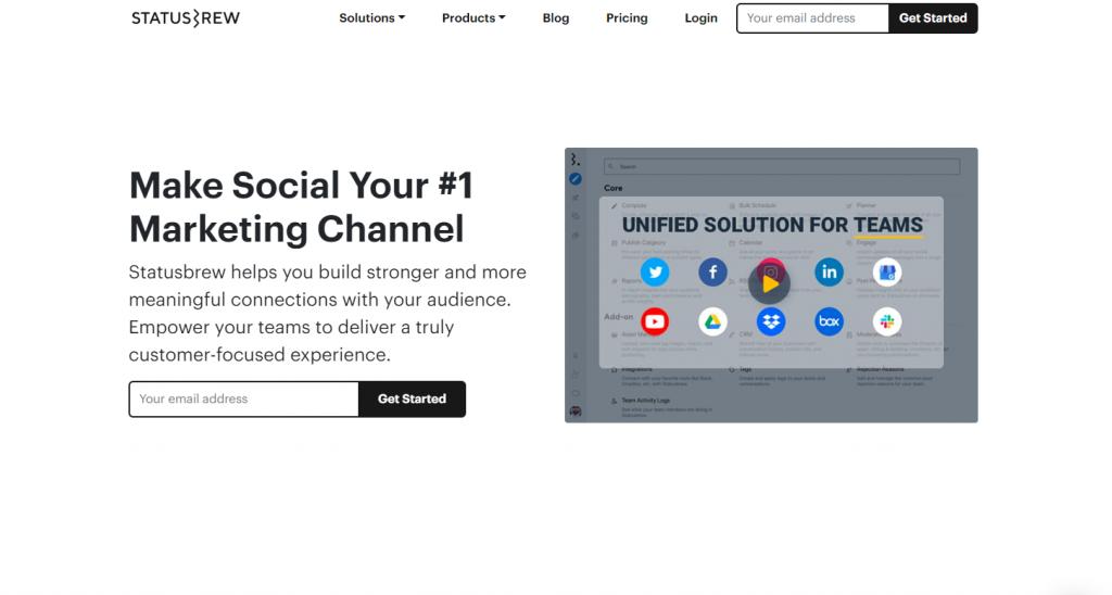 Social Media Tools - Social Listening Tools - Statusbrew
