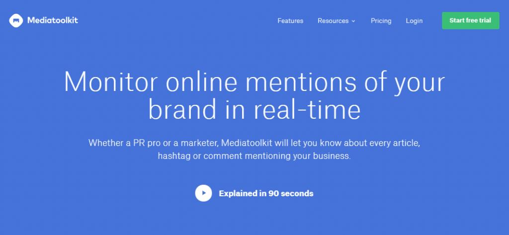 Social Media Tools - Social Listening Tools - Mediatoolkit