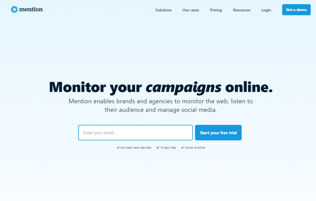Social Media Tools - Social Listening Tools - Mention
