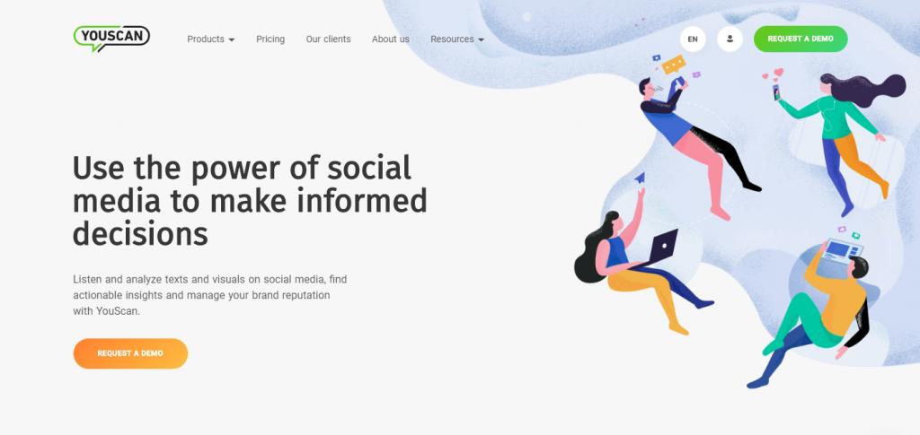 Social Media Tools - Social Listening Tools - Youscan