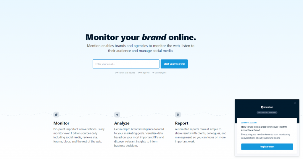Keyhole - Top 25 Social Media Monitoring Tools - Mention