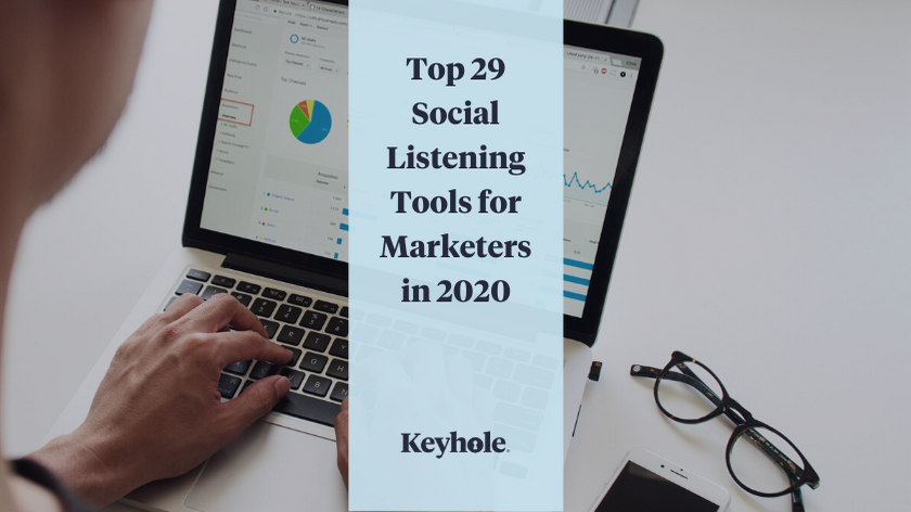 List of the top social listening tools available to marketers in 2020.