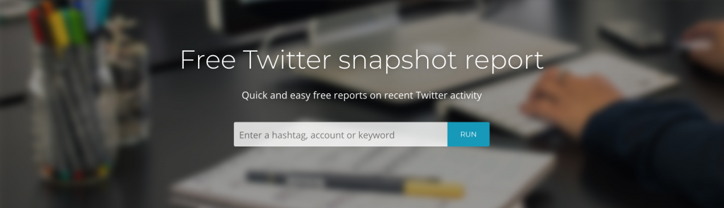 Keyhole - Top 25 Social Media Monitoring Tools - Audiense Dashboard for Twitter