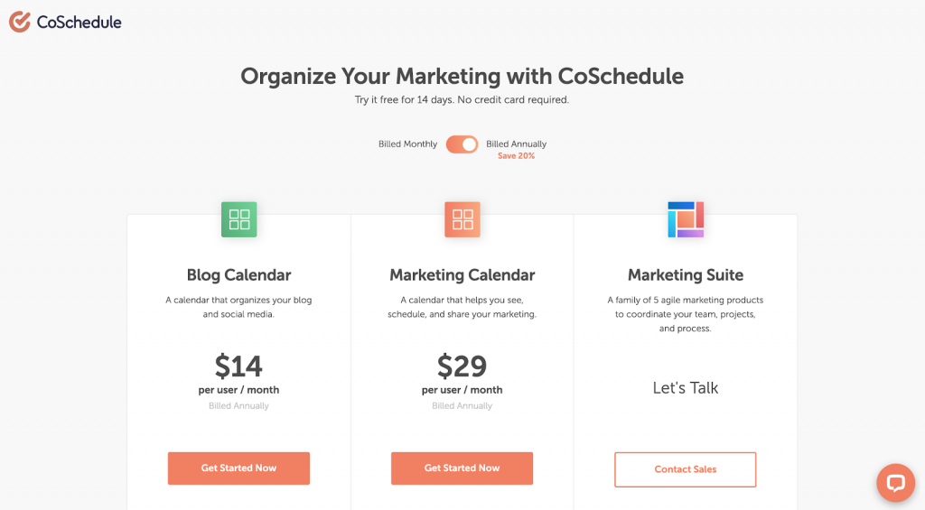 11 Best Social Media Scheduling Tools - Keyhole - CoSchedule Pricing