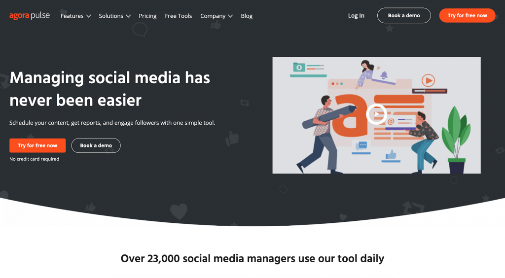 11 Best Social Media Scheduling Tools - Keyhole - AgoraPulse