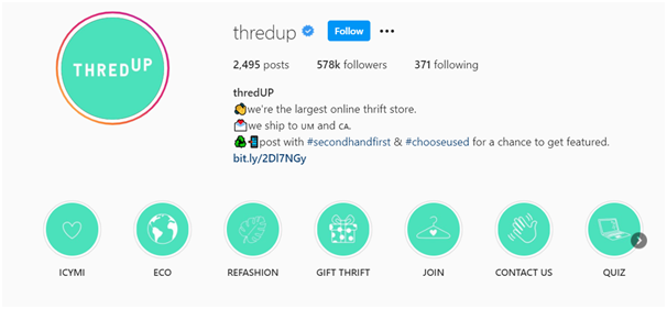 Social Media Icons - Keyhole - Hashtag Tracking - Instagram highlight covers example